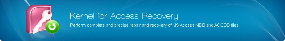 Access Repair Software to Repair Corrupt or Damaged  MDB